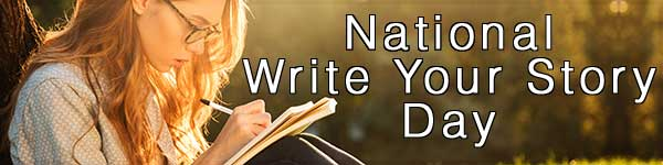 National Write Your Story Day